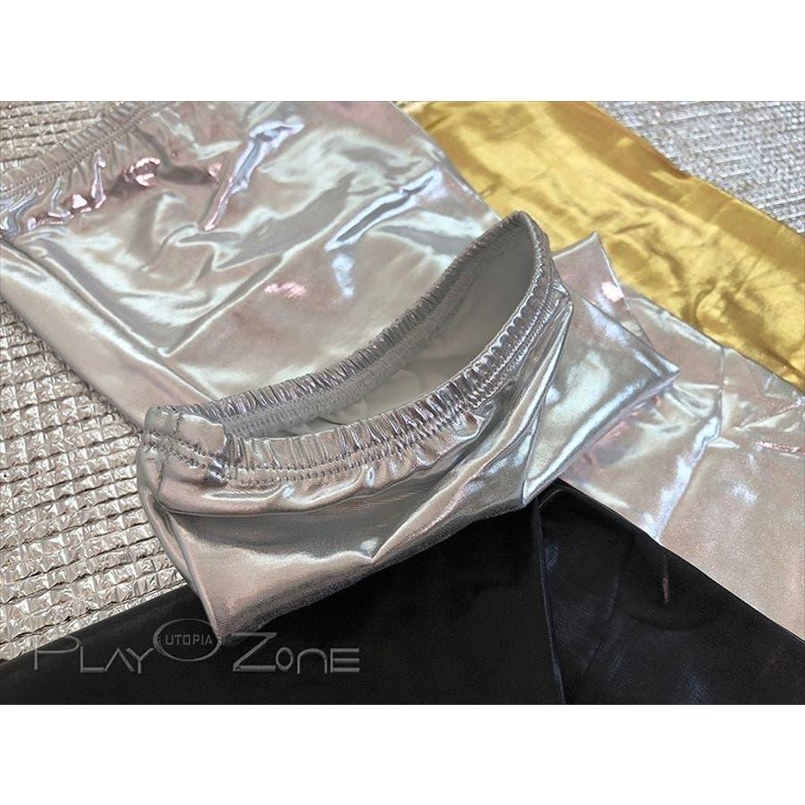 フェイクレザー ボンテージ 仮装 コスプレ セクシー コスチューム オーバーニー ニーハイ ストッキング ロングストッキングブラック全3色 R165 コスチューム ボンテージ 8