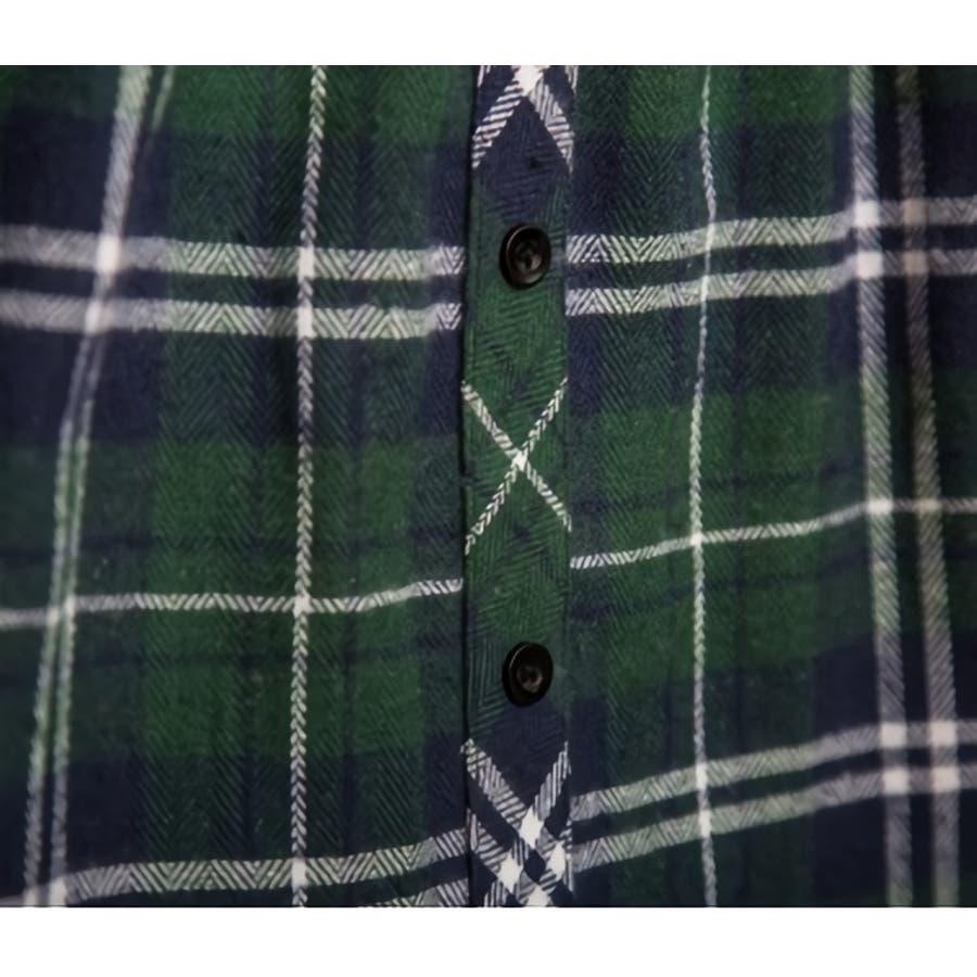 フェイクレイヤードシャツ レディース ボトムス 格子柄 チェック柄 重ね着風コーデ レッド ホワイト 秋 冬 コーデ 可愛いAラインウエストゴム 10