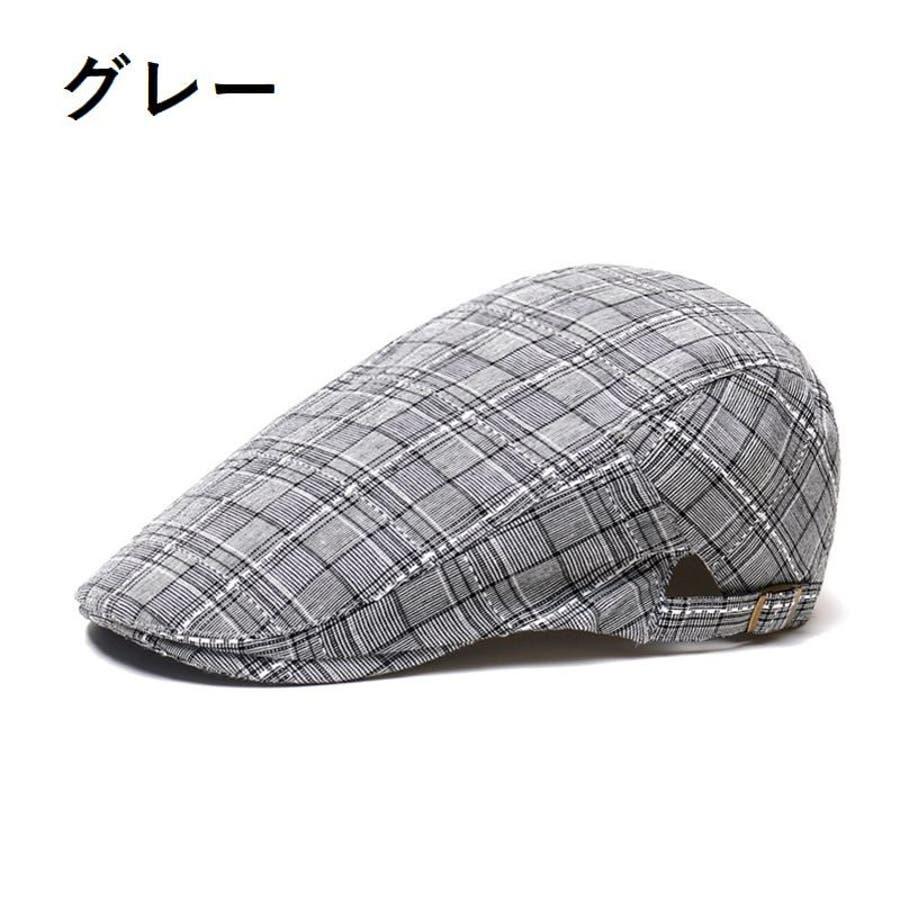 帽子 ハンチング帽 メンズ レディース 男女兼用 格子縞模様 調整可能 ファッション小物 キャップ 日除け 熱中症対策 UV対策お出掛け カジュアル おしゃれ 10