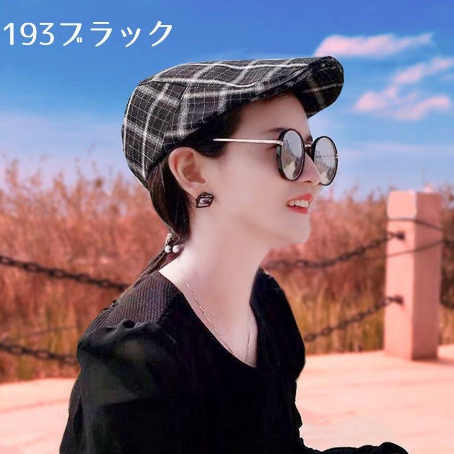帽子 ハンチング帽 メンズ レディース 男女兼用 格子縞模様 調整可能 ファッション小物 キャップ 日除け 熱中症対策 UV対策お出掛け カジュアル おしゃれ 5