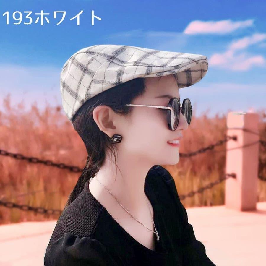 帽子 ハンチング帽 メンズ レディース 男女兼用 格子縞模様 調整可能 ファッション小物 キャップ 日除け 熱中症対策 UV対策お出掛け カジュアル おしゃれ 6