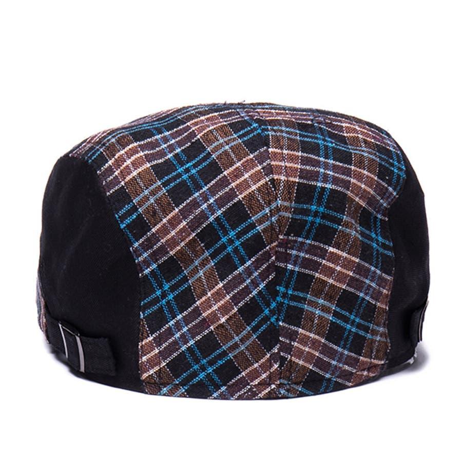ハンチング帽 メンズ レディース 帽子 ファッション小物 チェック柄 トラッド おしゃれ 春夏 ハンチングベレー ハンチングキャップ鳥打ち帽 スポーツ ゴルフ 3
