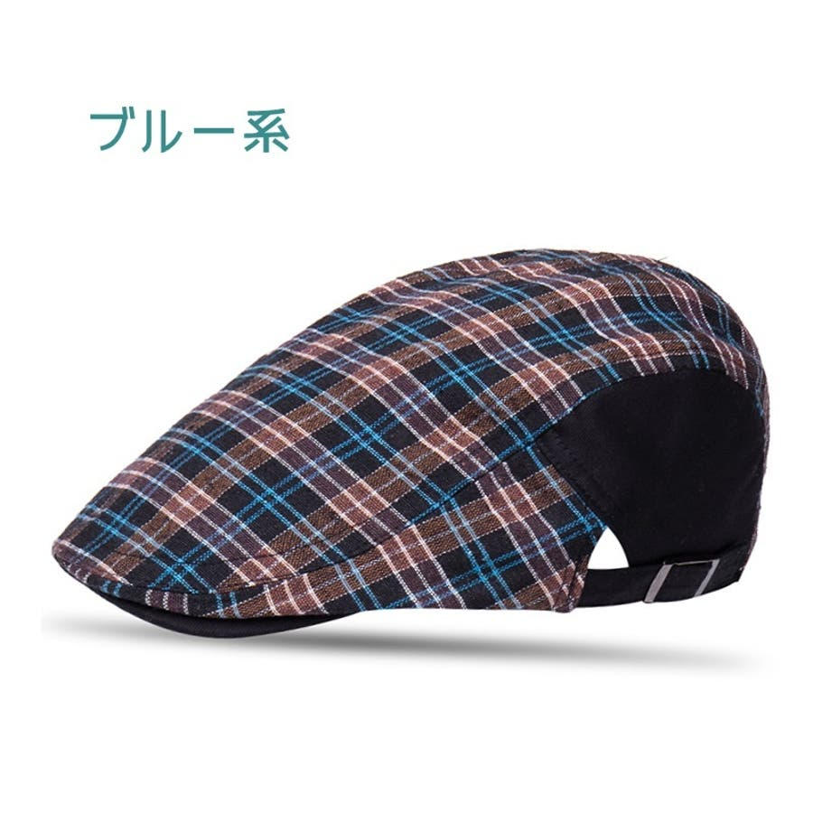 ハンチング帽 メンズ レディース 帽子 ファッション小物 チェック柄 トラッド おしゃれ 春夏 ハンチングベレー ハンチングキャップ鳥打ち帽 スポーツ ゴルフ 5