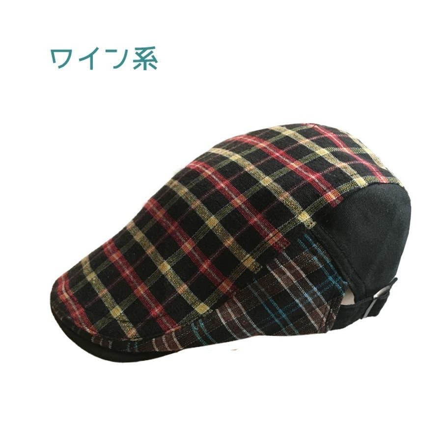 ハンチング帽 メンズ レディース 帽子 ファッション小物 チェック柄 トラッド おしゃれ 春夏 ハンチングベレー ハンチングキャップ鳥打ち帽 スポーツ ゴルフ 6