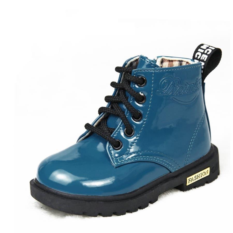 ブーツ 子供用ブーツ キッズブーツ ジュニアブーツ ショートブーツ レインブーツ 防水 編み上げ レースアップブーツ 男の子 女の子シューズ 13.0cm〜22.5cm 6