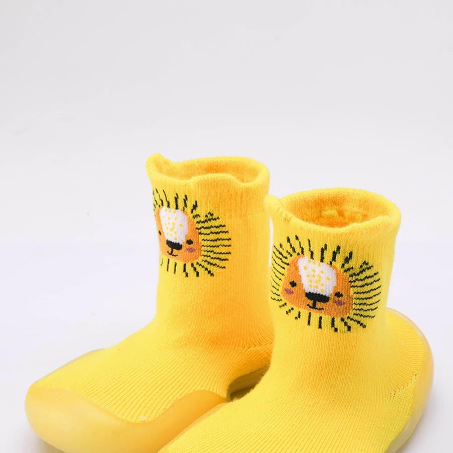 ベビーシューズ ソックスシューズ 靴 靴下 赤ちゃん 男の子 女の子 滑り止め アニマル柄 動物 可愛い 出産祝い プレゼント ギフト 7
