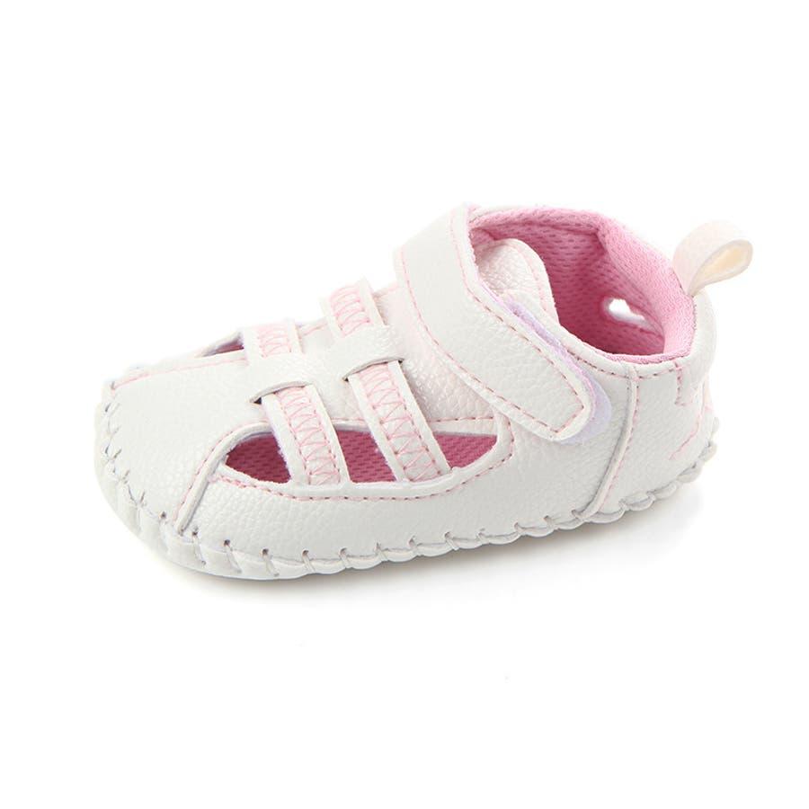 ファーストシューズ シューズ サンダル 11-13cm ベビー 赤ちゃん 子供 男女兼用 男の子 女の子 靴 くつ シンプル 夏用 9