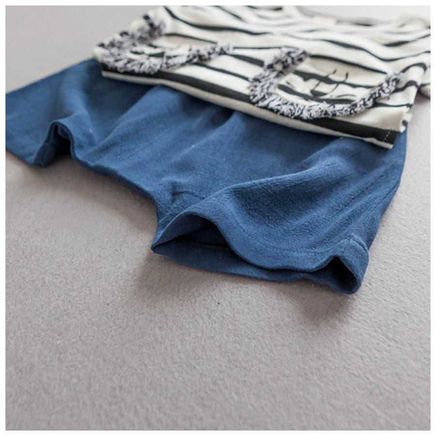 60c97e0d9d4afc セットアップ 半袖Tシャツ ボーダーTシャツ ショートパンツ ショーパン ...