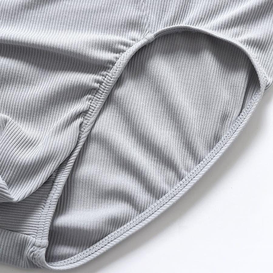 メンズ ブリーフ パンツ 下着 ショーツ アンダーウェア メンズ 紳士用 リブ ウェストゴム ビキニ おしゃれ シンプル 無地 8