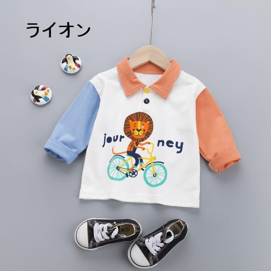 長袖Tシャツ カットソー トップス 3