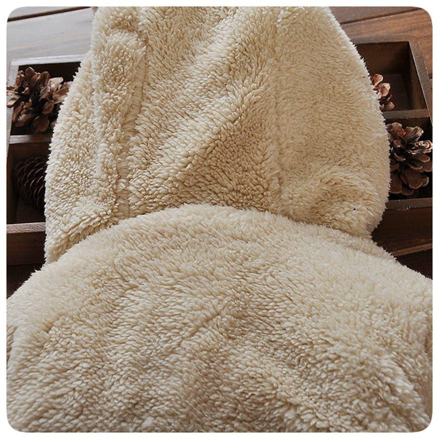 フリースジャケット ボアジャケット ブルゾン ジャンパー 子供服 子ども服 冬 アウター 耳付きフード パーカー ジップアップアップリケ刺繍 ゾウさん キリン 動物 男の子 女の子 男児 女児 可愛い もこもこ 暖かい あったかい 70cm 80cm 9