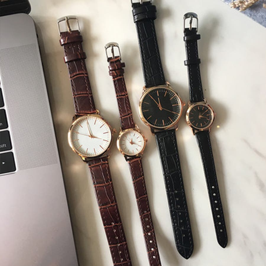 3553a50c40 腕時計 レディース メンズ アンティーク シンプル おしゃれ 黒 シンプル ...