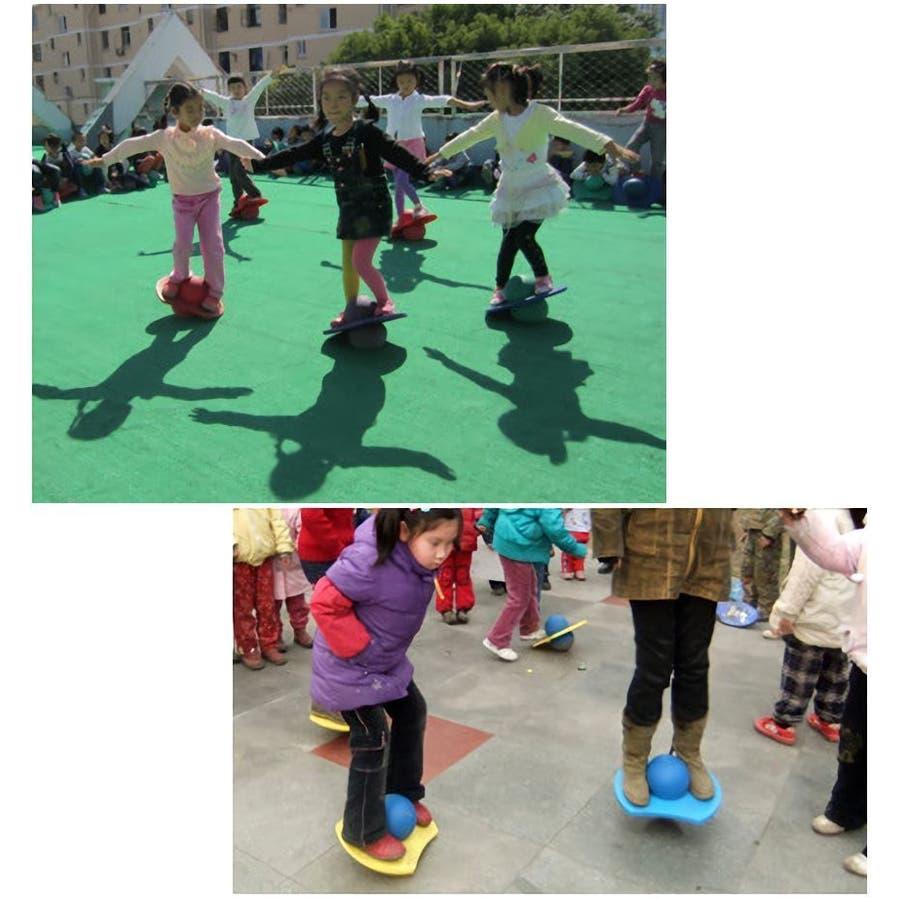 ジャンプボール バランスボール バランス感覚 バランス訓練 運動 耐荷重約90kg 遊具 子供 大人 空気入れエクササイズ体幹トレーニング ダイエット キッズ こども 子ども 2