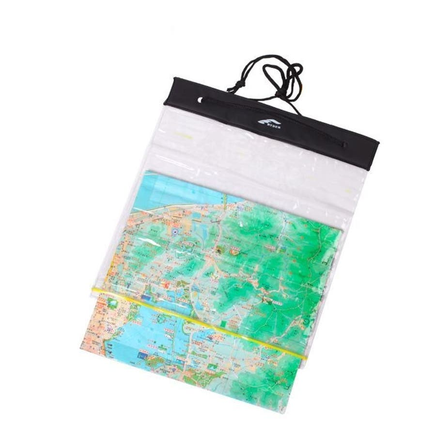 防水ケース マップケース 地図ケース ウォータープルーフ 防水カバー 防水バッグ クリアケース 透明 マップ収納ケースアウトドアレジャー 登山 マリンスポーツ 海水浴 プール ビーチ ダイビング 2