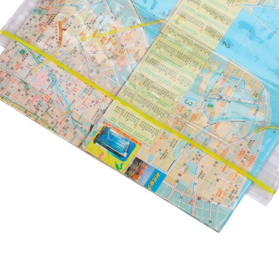 防水ケース マップケース 地図ケース ウォータープルーフ 防水カバー 防水バッグ クリアケース 透明 マップ収納ケースアウトドアレジャー 登山 マリンスポーツ 海水浴 プール ビーチ ダイビング 3