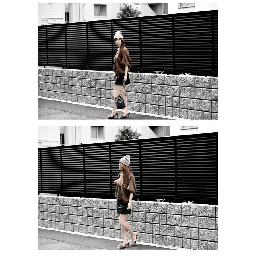レディース スカート ボトムズ レザー 無地 楽チン 動きやすい タイトスカート ハイウエスト ミニスカート 大人 秋スカートポケット付き 裏地付き 裏地パンツ ブラック 合皮 伸びる素材 選べるサイズ S/M フェイクレザースカートサイズ S/Mフェイクレザースカート 3