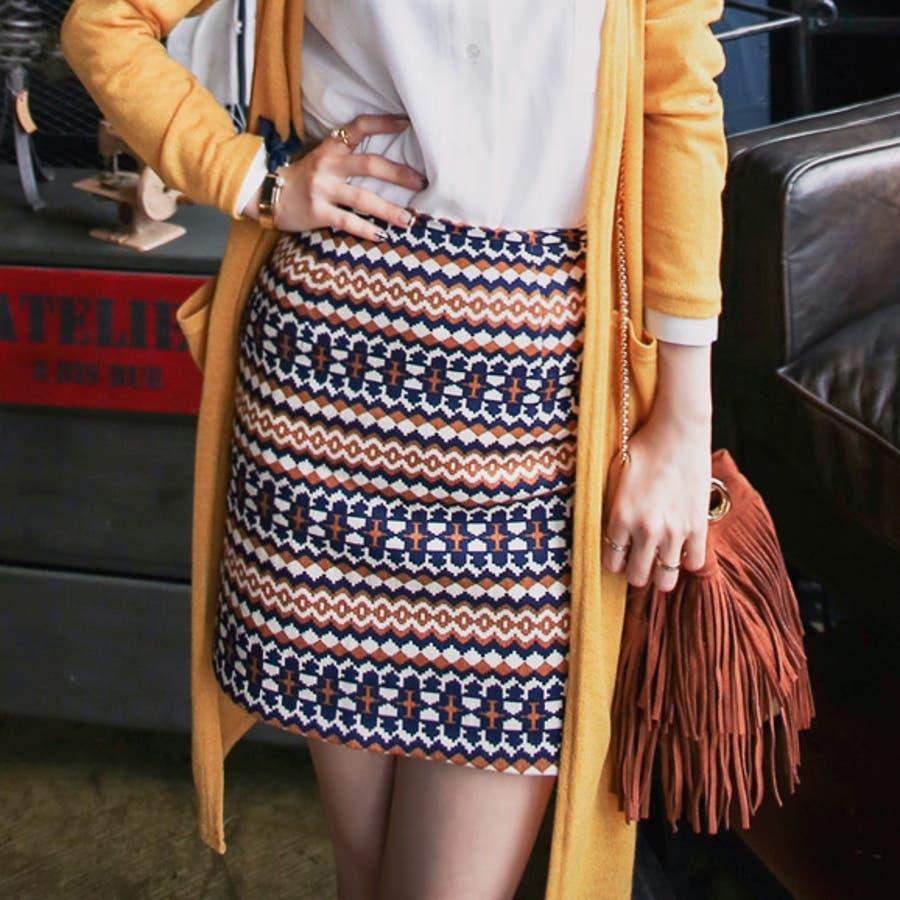 オシャレ女子はこう着てる ボヘミアンHラインスカート スリム ミニスカート ペンシルスカート カジュアルからオフィスまで A W 秋冬 強奪