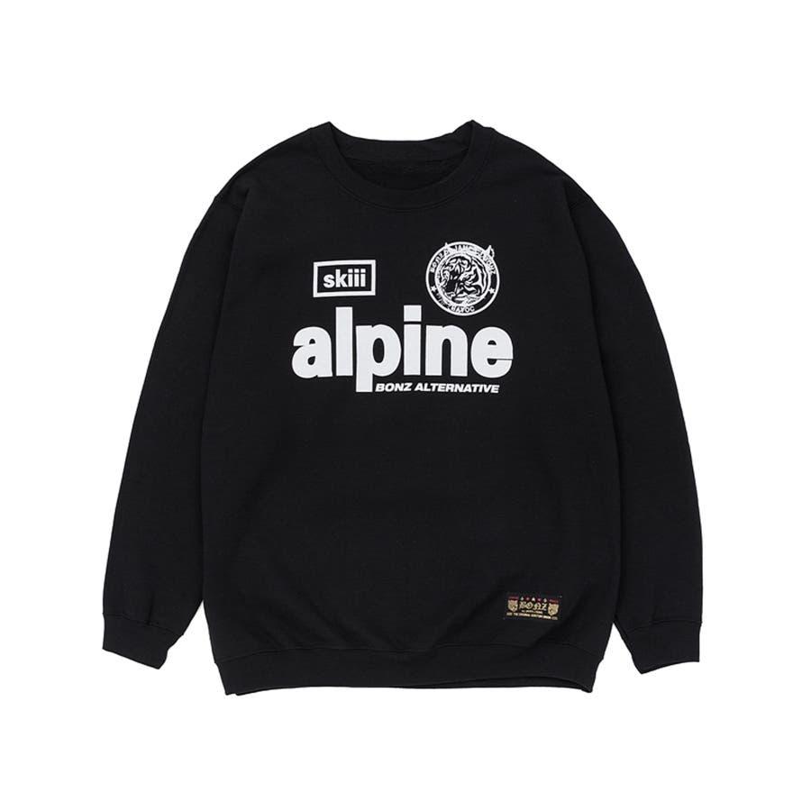 想像していた通り綺麗な色でした BONZ ALPINE SWEAT BLACK  スウェット トレーナー カジュアル アウター 2015A W 秋冬 渦中