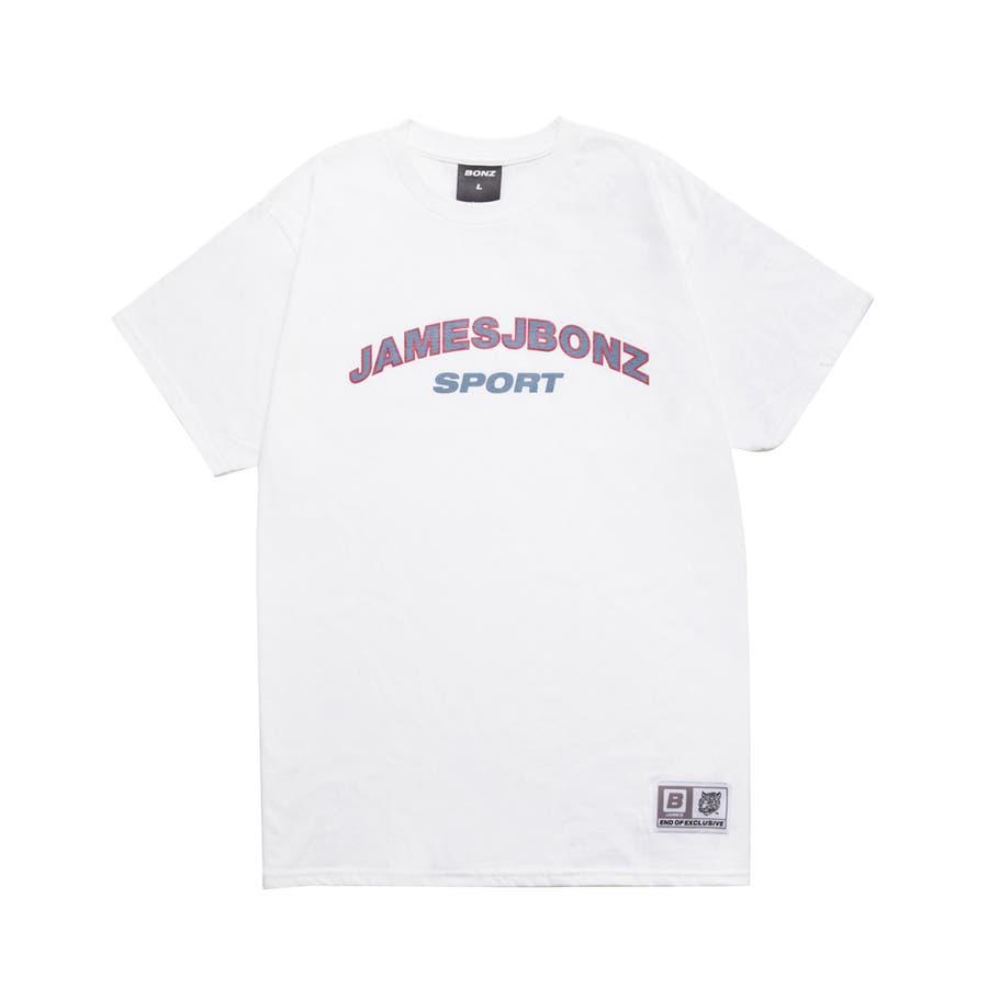 とても着やすいので気に入っています BONZ JAMES SPORT S S T-SHIRT  WHITE  Tシャツ 半袖 カジュアル トップス 2016S S 春夏 調和