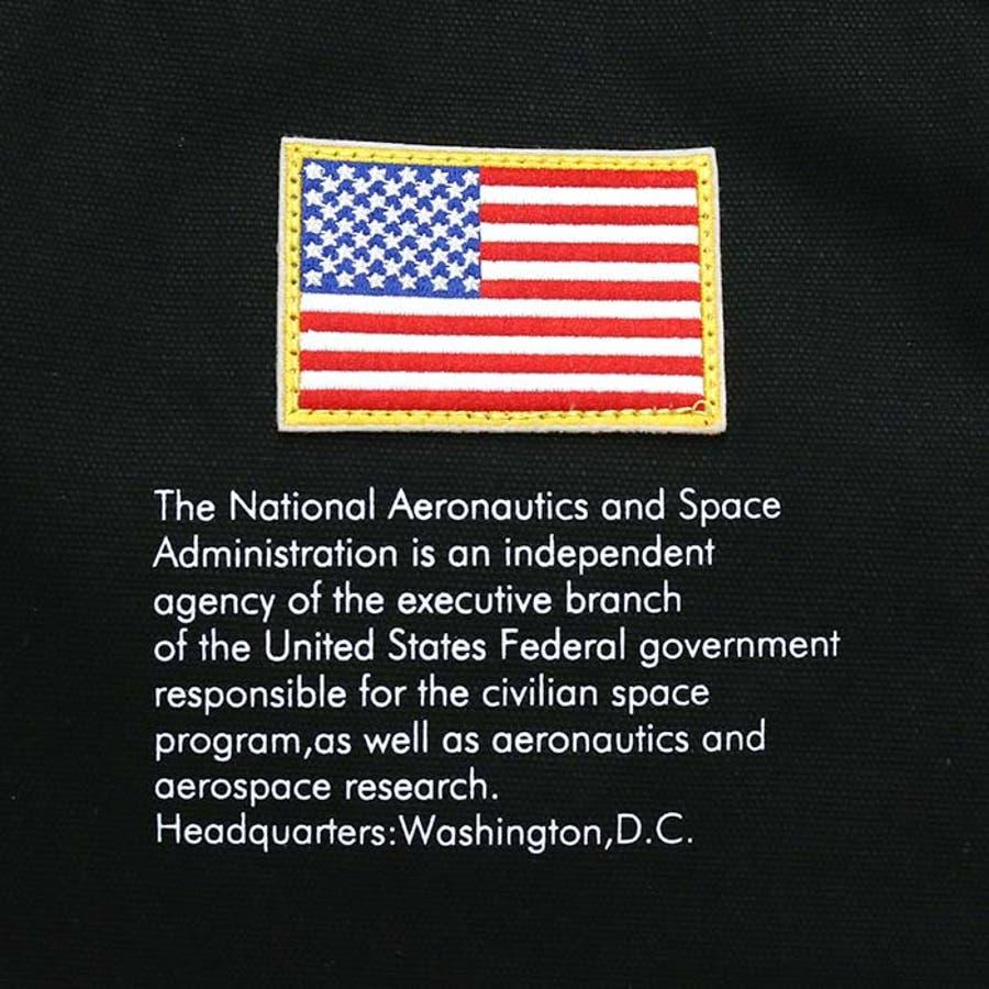 トートバッグ NASA ナサ ショルダートート 2way 斜め掛けショルダー キャンバストート 帆布 エコバッグ レディース 女の子女性 女子 かばん A4 B4 通勤 通学 学生 旅行 宇宙 インサイニア ミートボール 人気 大きめ NSC800 4