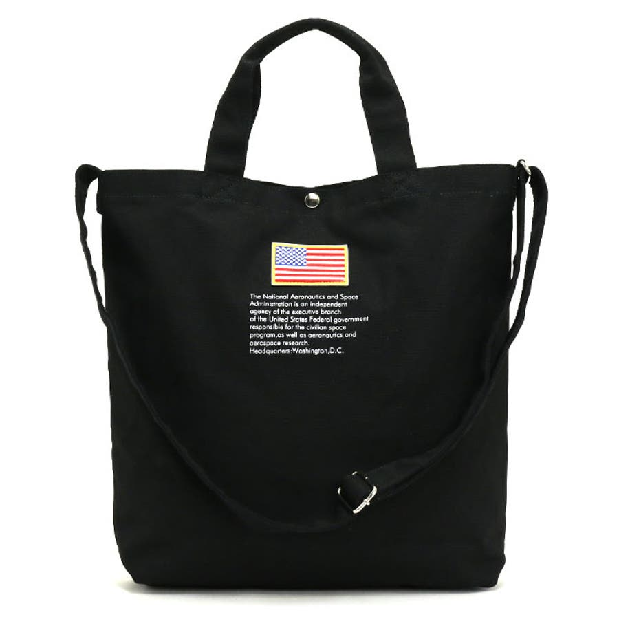 トートバッグ NASA ナサ ショルダートート 2way 斜め掛けショルダー キャンバストート 帆布 エコバッグ レディース 女の子女性 女子 かばん A4 B4 通勤 通学 学生 旅行 宇宙 インサイニア ミートボール 人気 大きめ NSC800 7