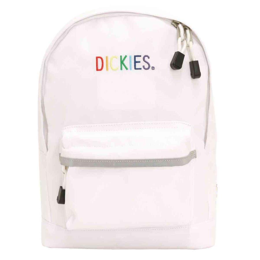 Dickies ディッキーズ キッズバッグ リュックサック KIDS 子供 バッグ バックパック キッズ 子供用バッグ 黒リュックかばん 男の子 女の子 おしゃれ 人気 DK K RAINBOW LOGO DAY PACK レインボーロゴ デイパック B514075300 108