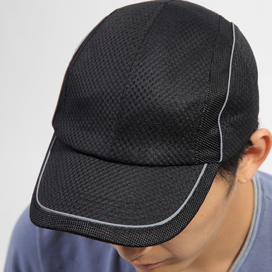 メッシュ スポーツ キャップ 帽子 メンズ ホワイト ブラック グレー ネイビー 4
