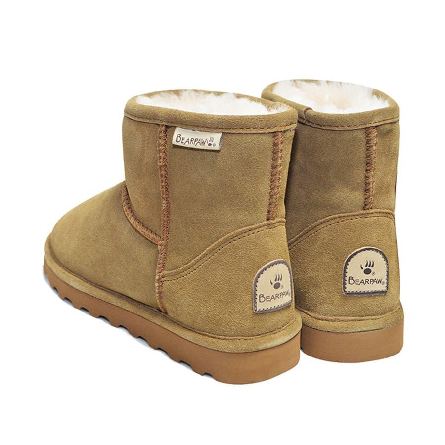 BEARPAW ベアパウ DEMI デミ レディース 女性 婦人 ブーツ 靴 防寒 撥水 ムートンブーツ ファーブーツ 619W 6