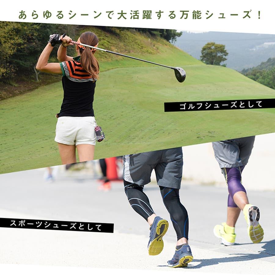 FOURSENSE フォーセンス MIKII2 ミキー レディース スパイクレス シューズ スニーカー FOSN-009L 婦人 女性ゴルフ スポーツ 靴 2