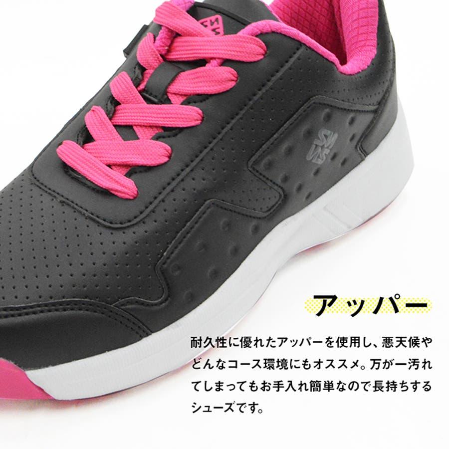 FOURSENSE フォーセンス MIKII2 ミキー レディース スパイクレス シューズ スニーカー FOSN-009L 婦人 女性ゴルフ スポーツ 靴 7