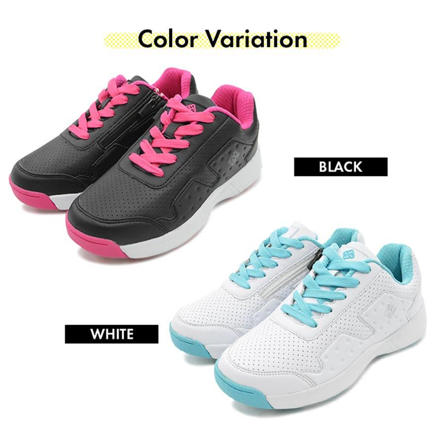 FOURSENSE フォーセンス MIKII2 ミキー レディース スパイクレス シューズ スニーカー FOSN-009L 婦人 女性ゴルフ スポーツ 靴 9