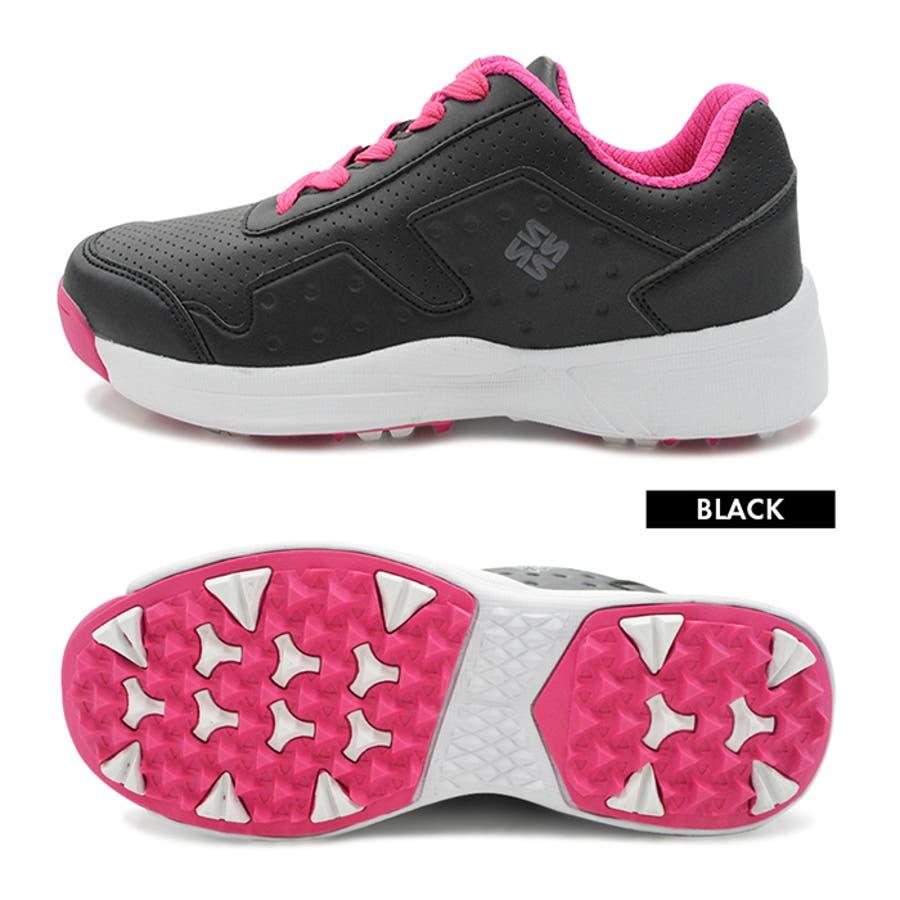 FOURSENSE フォーセンス MIKII2 ミキー レディース スパイクレス シューズ スニーカー FOSN-009L 婦人 女性ゴルフ スポーツ 靴 10