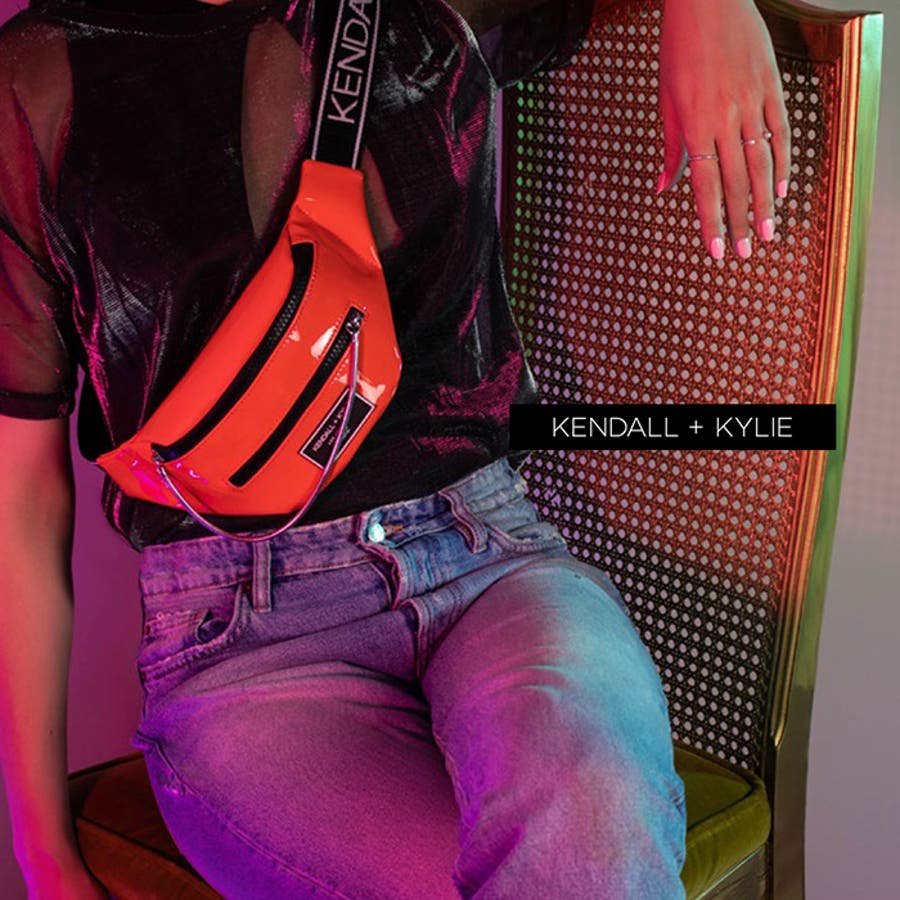 Kendall+Kylie ケンダルアンドカイリー CARINA カリーナ メッセンジャーバッグ サコッシュ ウエストポーチレディース 女性 婦人 3