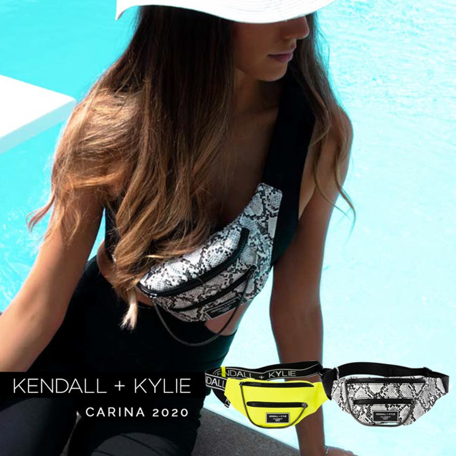 ケンダルアンドカイリー レディース バッグ Kendall+Kylie CARINA2020 カリーナ メッセンジャーバッグサコッシュ ウエストポーチ 1
