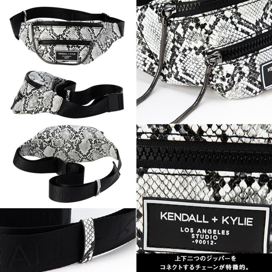 ケンダルアンドカイリー レディース バッグ Kendall+Kylie CARINA2020 カリーナ メッセンジャーバッグサコッシュ ウエストポーチ 4