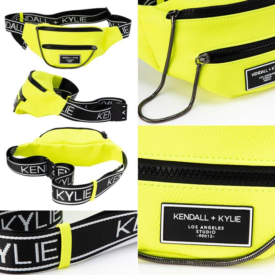 ケンダルアンドカイリー レディース バッグ Kendall+Kylie CARINA2020 カリーナ メッセンジャーバッグサコッシュ ウエストポーチ 6