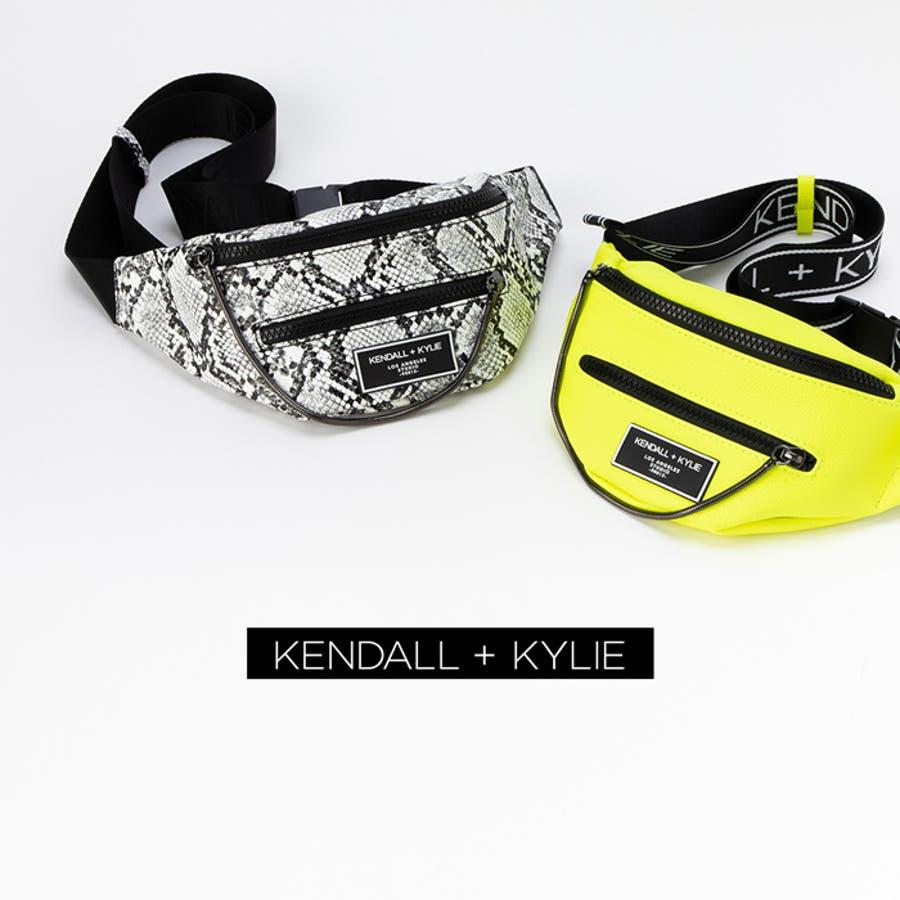 ケンダルアンドカイリー レディース バッグ Kendall+Kylie CARINA2020 カリーナ メッセンジャーバッグサコッシュ ウエストポーチ 9