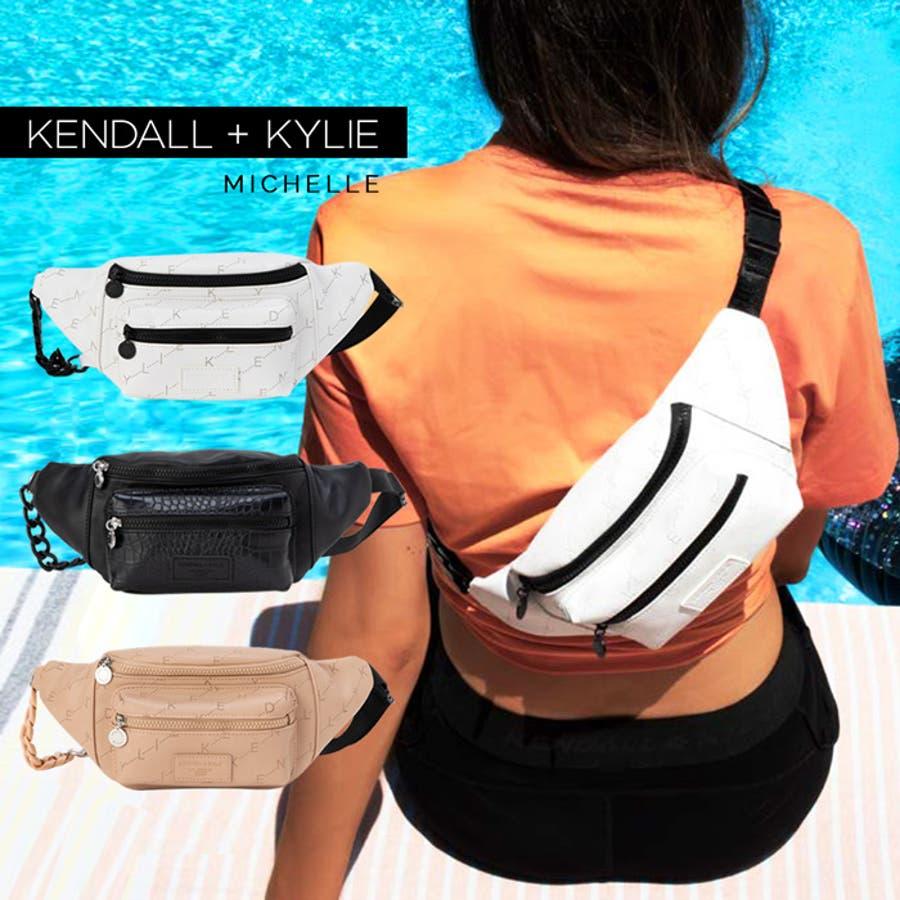 ケンダルアンドカイリー バッグ レディース Kendall+Kylie MICHELLE ミシェル メッセンジャーバッグ サコッシュウエストポーチ ウェストバッグ 1
