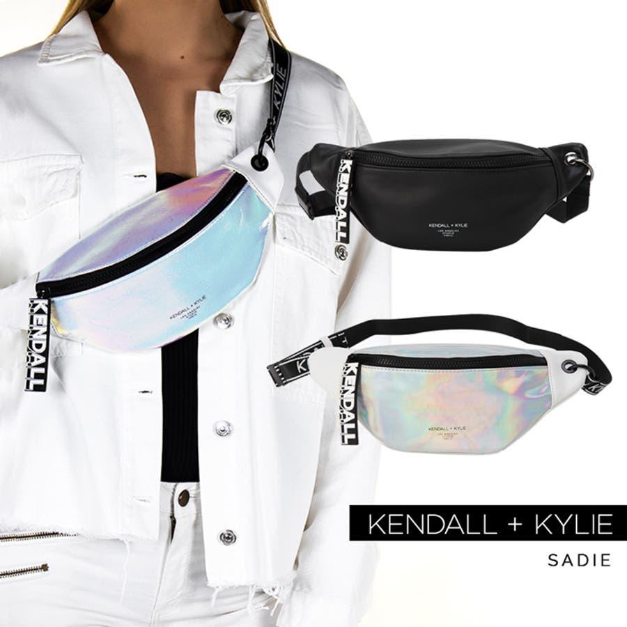 ケンダルアンドカイリー バッグ レディース Kendall+Kylie SADIE サディー メッセンジャーバッグ サコッシュウエストポーチ ウェストバッグ 1