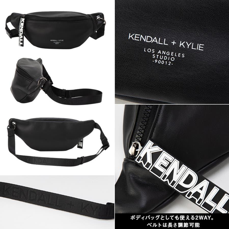 ケンダルアンドカイリー バッグ レディース Kendall+Kylie SADIE サディー メッセンジャーバッグ サコッシュウエストポーチ ウェストバッグ 4