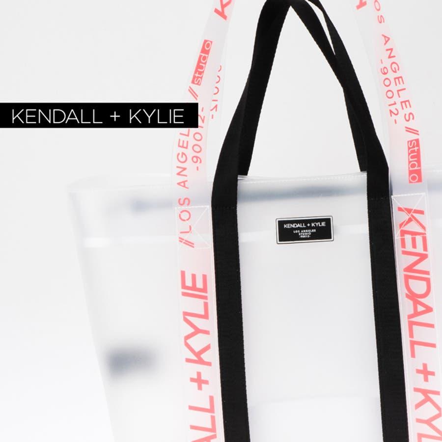 ケンダルアンドカイリー レディース バッグ Kendall+Kylie SKYLAR スカイラー トートバッグ ハンドバッグ クリアシースルー スケルトン 7