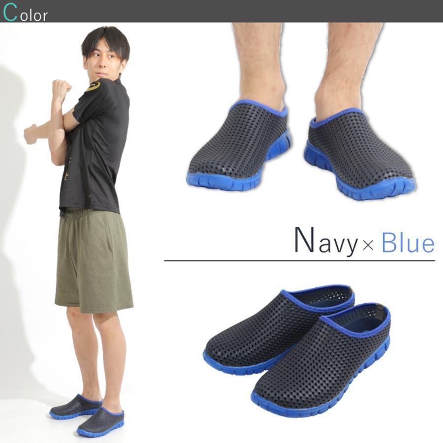 通気性 軽量 メッシュ シューズ メンズ レディース レイトンハウス LEYTON HOUSE 靴 スニーカー サンダル 5