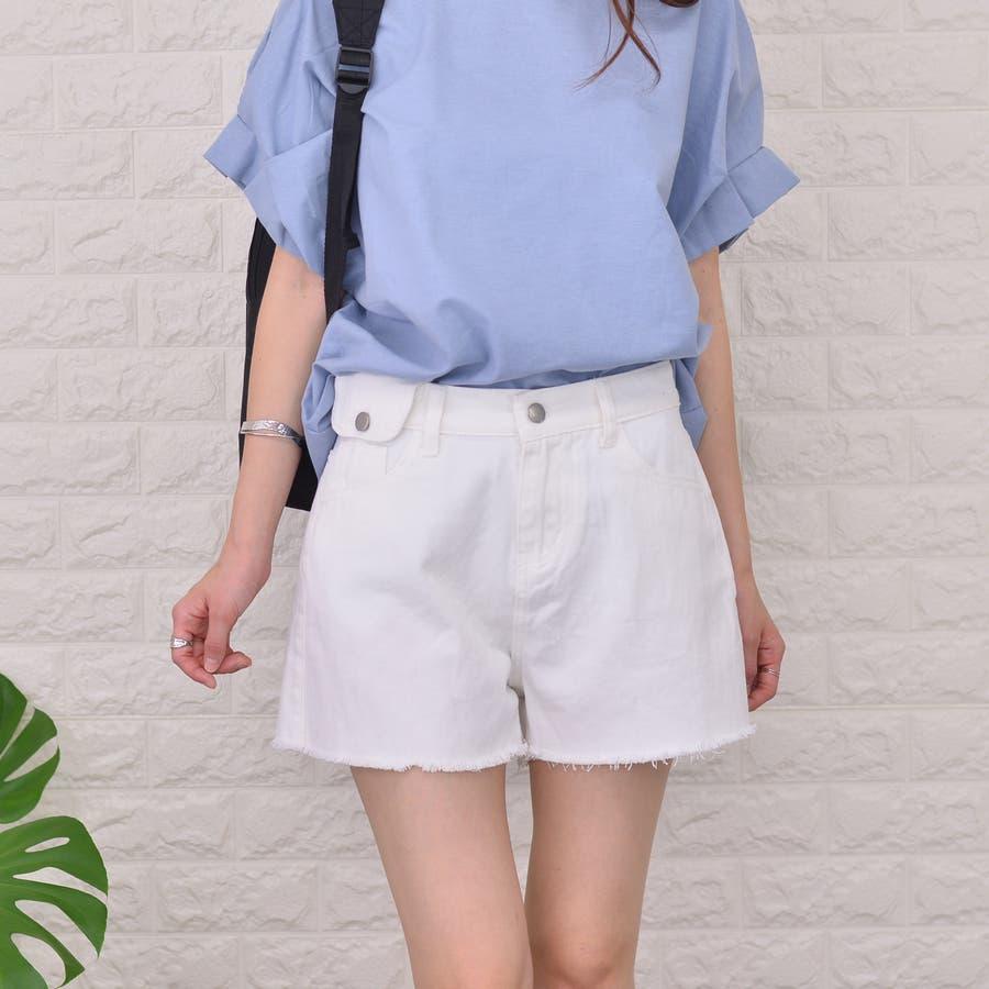 裾キリッパ デニム&カツラギ ショートパンツ 16