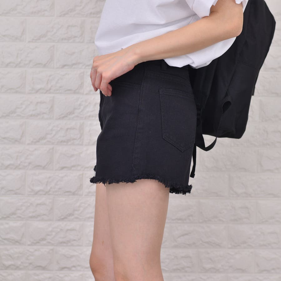 裾キリッパ デニム&カツラギ ショートパンツ 7