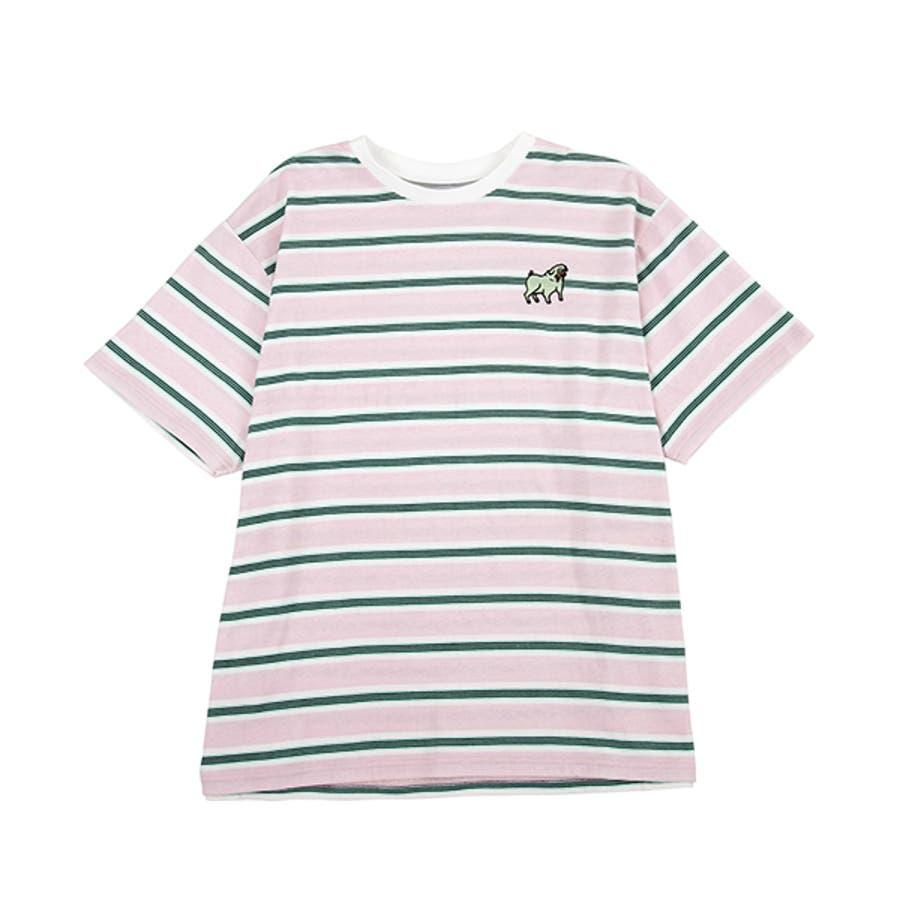 FUGUドッグボーダーTシャツ 10