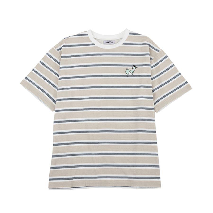 FUGUドッグボーダーTシャツ 5