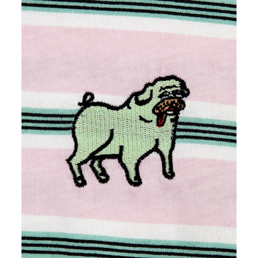 FUGUドッグボーダーTシャツ 6