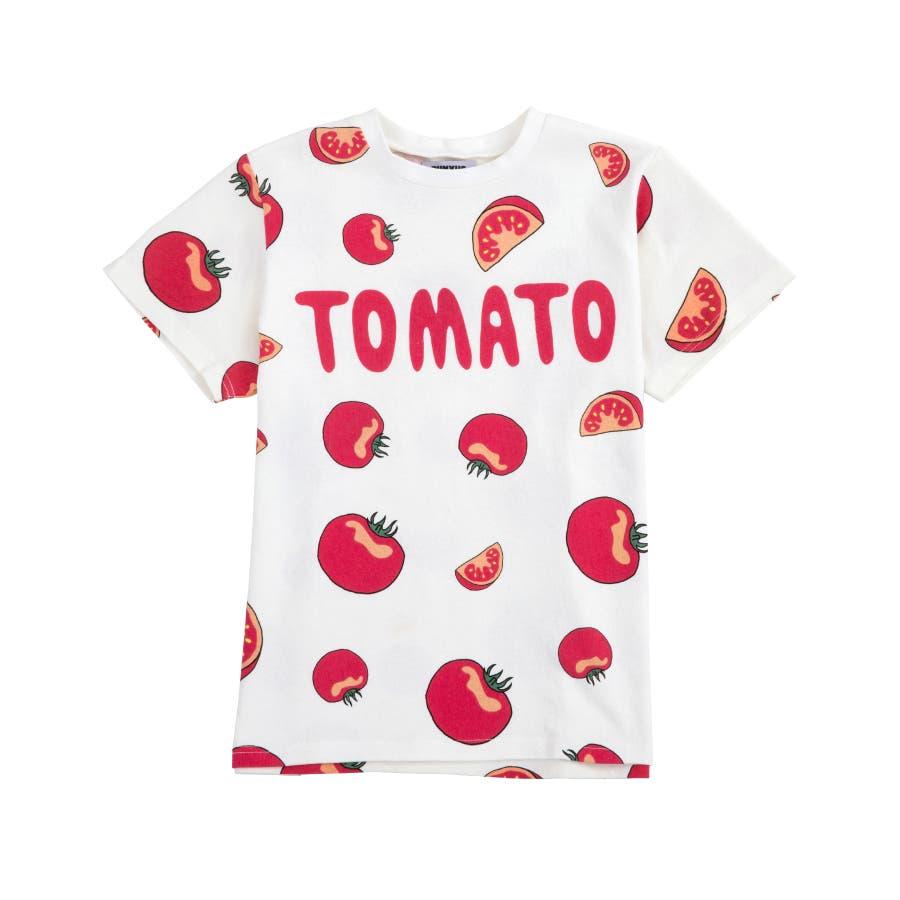 フード総柄Tシャツ 108