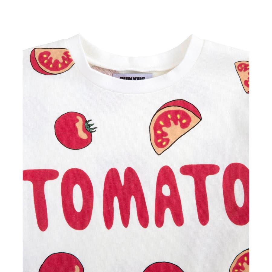 フード総柄Tシャツ 2