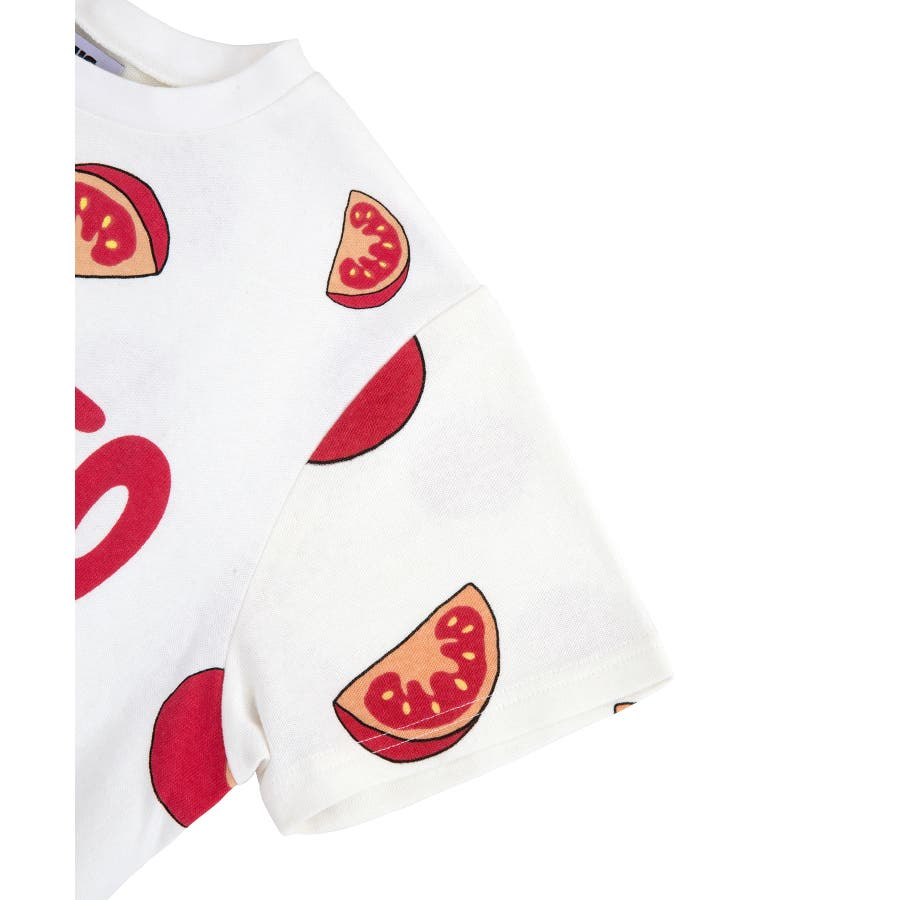 フード総柄Tシャツ 4